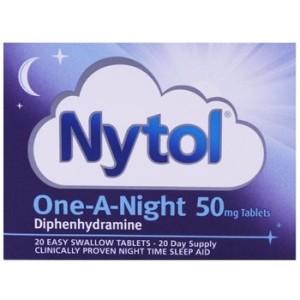 Nytol sleeping aid