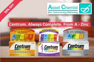 Centrum multivitamins for all the family