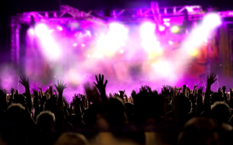 When did you last go to a concert  or festival?
