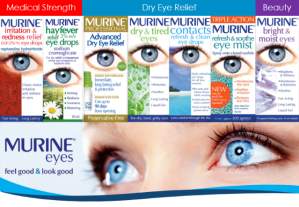 Maurine eye drops for dry eyes