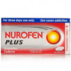 Nurofen Plus contains ibuprofen and codeine