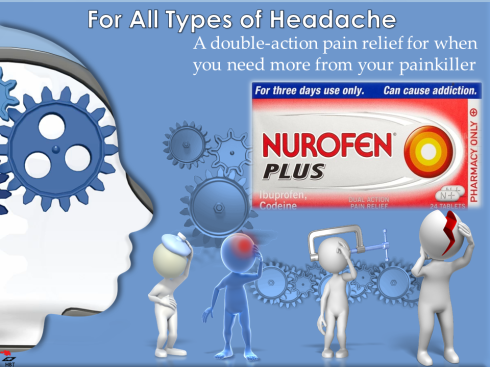 Painkiller can treat migraine attacks