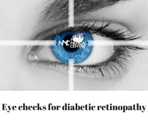 if you have diabetes, it is vital that you have regular eye checks to detect retinopathy before your vision becomes badly affected. You should have an eye check at least once a year.