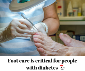 If you have diabetes, your feet need special attention